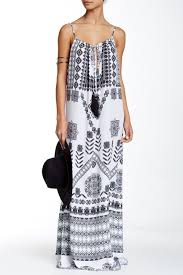 Rococo Sand Size Chart Rococo Sand Printed Embellished Maxi Dress Nordstrom Rack