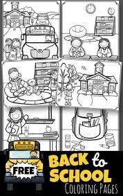 Collection of coloring for kindergarten pdf #2696415. Free Back To School Coloring Pages