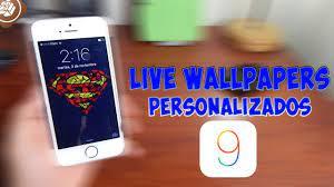 COMO PONER LIVE WALLPAPERS ...