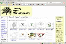 Family Tree Website Templates Free Download Printable Family Tree