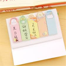 Decorative office supplies Gold Cute Sumikko Gurashi Adhesive Memo Pads Sticky Notes Diy Decorative Stickers Student Stationery Ssticker Cute Sumikko Gurashi Adhesive Memo Pads Sticky Notes Diy Decorative
