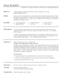 Sample Telecommunications Consultant Resume Resume Telecommunication Resumes