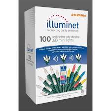 Intertek Christmas Lights Sylvania Illuminet Led Mini Led Light Set Color Changing 18