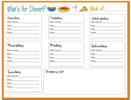 14 dinner menu templates free images