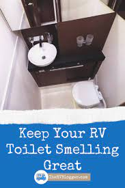 rv toilet black water smell