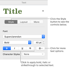 The Help Text Add Bold Italic Underline And Strikethrough To Text In