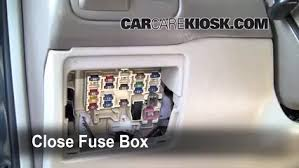 interior fuse box location toyota corolla toyota interior fuse box location 1998 2002 toyota corolla 1999 toyota corolla ce 1 8l 4 cyl