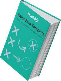 Sales Plan Document Free Sales Plan Template Hubspot