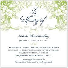 memorial service invitation best photos of sample memorial service invitation wording memorial