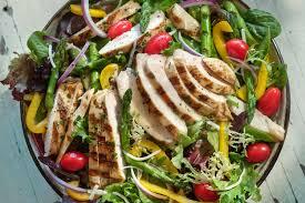 grilled chicken salad. Exellent Salad Grilled Chicken Salad And L