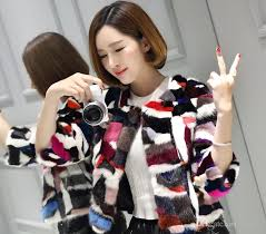new color fur imports color spell fur fur coat short coat beautiful