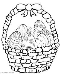 Printable Coloring Easter Pages Coloring Pages Free Printable