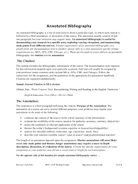 2019 Annotated Bibliography Example Fillable Printable Pdf