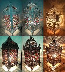 moroccan inspired lighting. Amazing Of Moroccan Inspired Lighting Flower Table Lamp Ebay N
