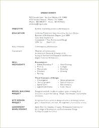Work Experience Resume Sample Unique Resume Sample High School Graduate Resume Sample Web