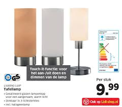 Livarno Lux Led Burealamp Of Tafellamp Aanbieding Bij Lidl