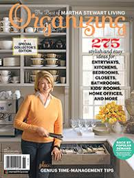 Martha Stewart Living Organizing
