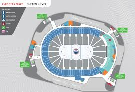 Rogers Seating Chart Edmonton Concourse Maps Rogers Place