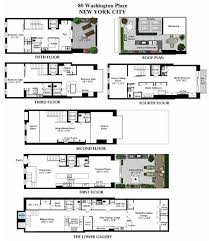 Town House Building Plan New Town Home Floor Plans Townhome Townhomes Floor Plans