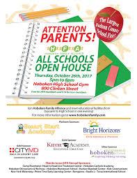 Hfa All Schools Open House Hoboken Family Alliance