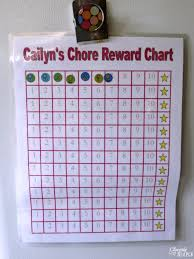 Diy Chore Chart Idea For Kids Cleverly Simple