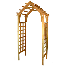 garden arbor lowes.  Lowes Garden Architecture 37ft W X 74ft H Natural Cedar Arbor And Lowes Loweu0027s