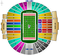 Lane Stadium Seating Chart Student Section Online Ticket Office Seating Charts