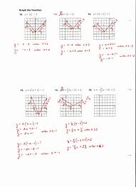 absolute value equations worksheet luxury absolute value equations and inequalities worksheet