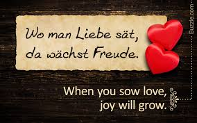Quotes On Love Life And Trust In English With Popular German Sayings