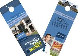 real estate door hanger templates. Real Estate Door Hangers | Creative Hanger Template Modern Templates
