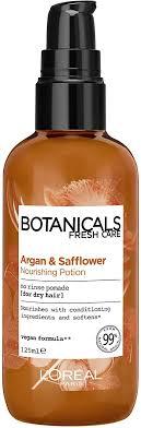 <b>L'Oreal</b> Paris <b>Botanicals</b> Argan & <b>Safflower</b> Dry Hair Vegan Hair ...