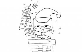 Small Picture Pete The Cat Coloring Page with regard to Residence Cool