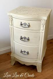 shabby chic nightstand. Hometalk Cute Old Furniture Transformed Into Romantic Shabby Chic Nightstand On