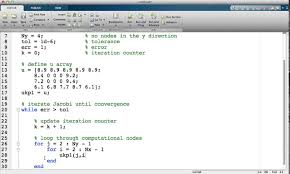 matlab code for solving laplace s equation using the jacobi method