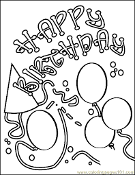 Choose from hundreds of templates, add photos and your own message. Crayola Birthday Free Printable Coloring Page Birthday Coloring Page 12 Entert Happy Birthday Coloring Pages Birthday Coloring Pages Birthday Cards To Print