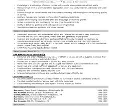 bar manager job description resume examples resume bartender examples most people think working as is bar