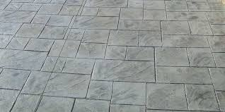 per square foot concrete is a cost effective material for your patio and can be colored and stamped to