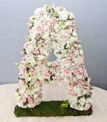 flower letters or numbers glendale florist