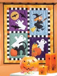 Halloween Applique Quilt Patterns | home quilting spooky halloween ... & Halloween Applique Quilt Patterns | home quilting spooky halloween technique  quilting applique lends . Adamdwight.com