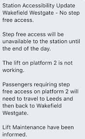 London North Eastern Railway On Twitter Vtecupdate The Lifts Will