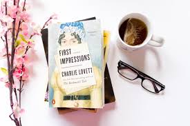book review first impressions a novel by charlie lovett ellie  book review first impressions a novel by charlie lovett ellie dashwood