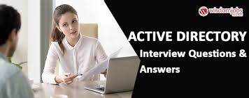 Interview Questions For Help Desk Active Directory Interview Questions Answers