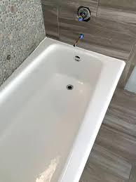 bathtub resurface bathroom refinishing before after bathtub repair