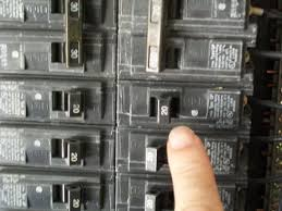the electrical service panel lundell electric tripped breaker won't reset at Fuse Box Tripped