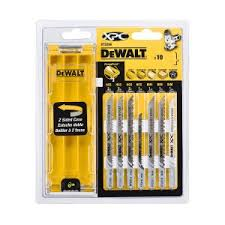 Купить DEWALT DT2296 <b>набор пилок для лобзика</b> по дереву, 10 ...