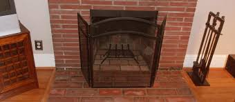 cleaning your fireplace glass