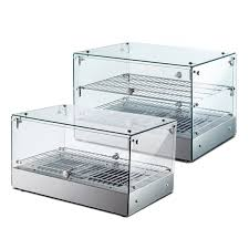 22 countertop display warmer with front and rear doors galaxy food equipment