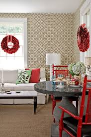 red and silver table decorations. Full Size Of Dining Room: White And Gold Christmas Table Settings Red Silver Decorations