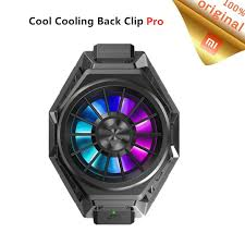 Original Xiaomi <b>Black Shark Cool Cooling</b> Fan Back <b>Clip</b> ProType-C ...