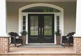 black glass front door. Popular Black Glass Front Door With Exterior Steel Doors Entry For New Home Or I